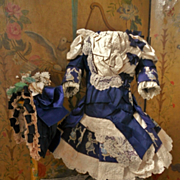 ~~~ Pretty One of a Kind French Bebe Costume ~~~