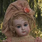 "~~~ RESERVED for A . // Very Pretty French Bisque "" Paris Bebe "" by Jumeau ~~~"
