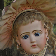 ~~~ Rare French Bisque Portrait Poupee by Jumeau ~~~