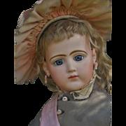 ~~~ Rare French Bisque Portrait Poupee by Jumeau ~~~