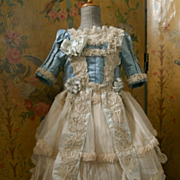 ~~~ Marvelous French Bebe Silk Costume ~~~
