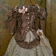 ~~~ Superb Two Piece French Bebe Costume ~~~