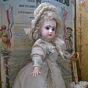 ~~~RESERVED for H. /  Pretty Bisque Bebe Jumeau with Rare Adult Style Body from a Luxury Paris Doll Shop ~~~