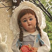 ~~~ Nice Large German Bisque Child ~~~