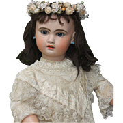~~~ Beautiful Large size 16 French Bisque Bebe Jumeau ~~~