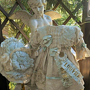 ~~~ Superb French Bebe Silk Costume with Couture Bonnet ~~~
