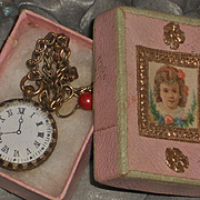 ~~~ Superb French Faux - Watch in Original Store Box ~~~