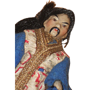 ~~~Rare  German All Bisque Portraying Asian Man ~~~