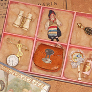 ~~~ Excellent French Poupee Accessory Presentation Box ~~~