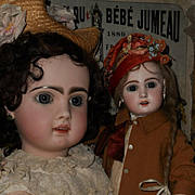"~~~ Beautiful French Bisque Bebe "" Mlle. Jumeau ""  Size 8 ~~~"