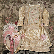 ~~~ Pretty Three Piece French Bebe Silk Costume ~~~