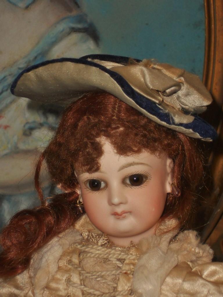 ~~~ Pretty Small French Poupee Bonnet ~~~