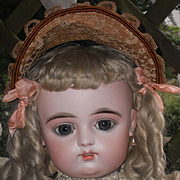 ~~~ Splendid Eyes French Bisque Bebe by Gaultier with Doll-Shop Label ~~~