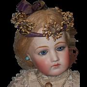 ~~~ Antique Orange Blossom Poupee Coronet in Box ~~~