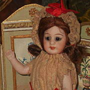 ~~~ Cute German All Bisque Child for French Market ~~~