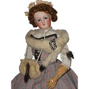 ~~~ French Bisque Smiling Poupee by Leon Casimir Bru ~~~