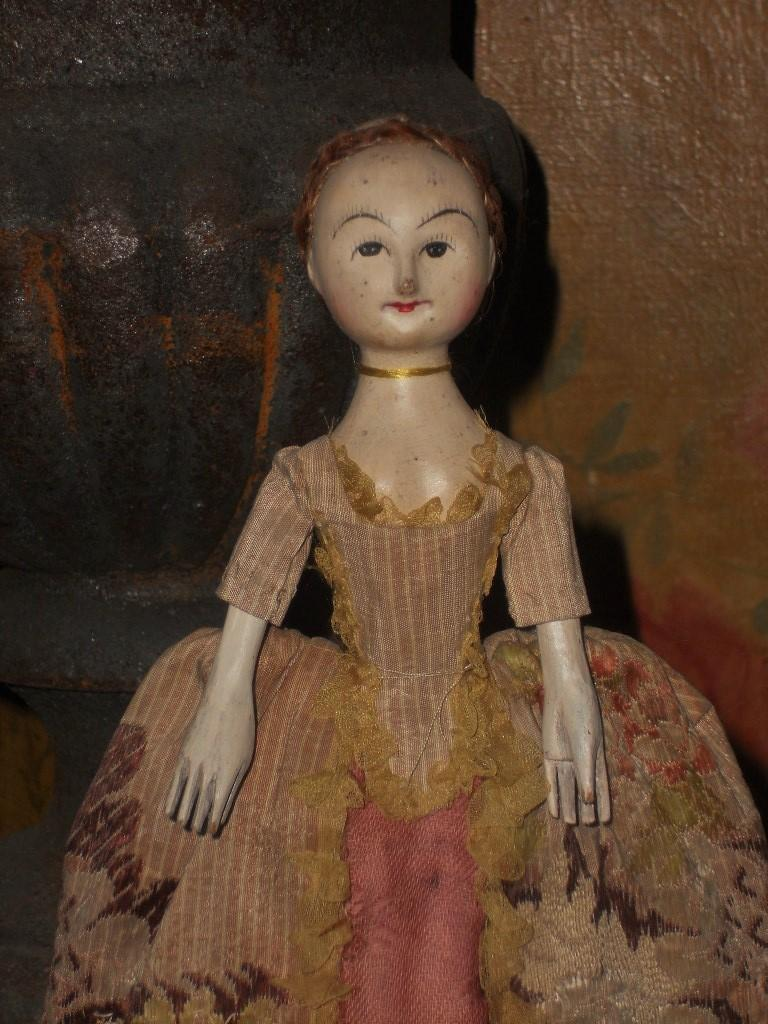 "~~~Lovely "" The Old Pretenders "" Artist Wooden Doll ~~~"
