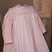 ~~~ Lovely Original Antique Apron Cotton Dress ~~~
