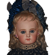 ~~~ Outstanding Rare French Incised E.J. Bisque Bebe from Maison Jumeau ~~~