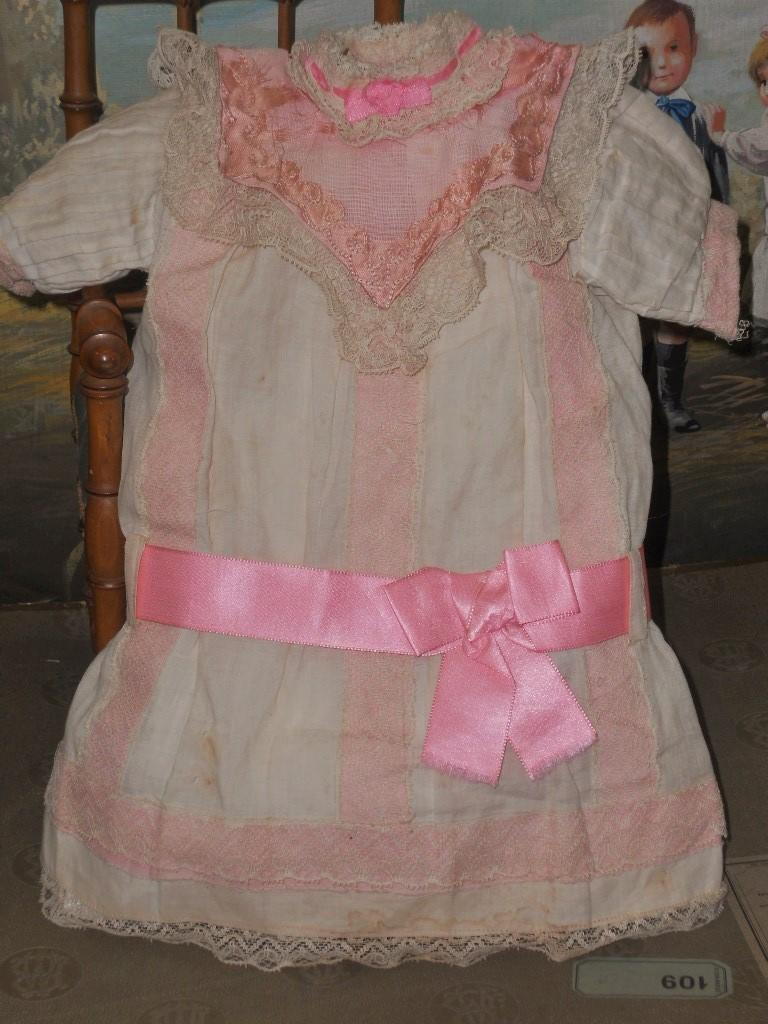 ~~~On Hold for E. // Pretty Muslin Chemise for Bebe Jumeau size 10 ~~~