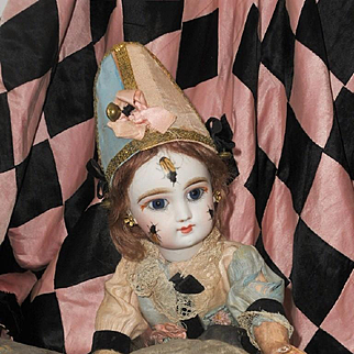 ~~~Reserved //  Lovely rare all Original Eden Clown , Attic Condition ~~~