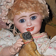 ~~~ Little Early Sculpture Candy Box Dog / 1880 ~~~