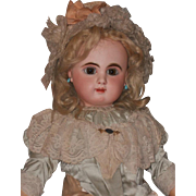 ~~~ Beautiful French Bisque Bebe Mascotte in Fine Costume ~~~