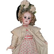 ~~~ Pretty Large French Bisque Bebe by Rabery and Delphieu ~~~