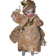 ~~~Lovely French Tiny Mignonette in Original Wedding Costume ~~~