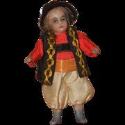 ~~~ Factory Original Tiny Bisque Mignonette in Traditional Costume ~~~