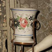 """~~~ Rare Miniature French """"Porcelain De Paris """" Vase ~~~"""
