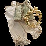 ~~~ Pretty Jumeau Lingerie Corset and Body Suit ~~~