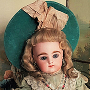 ~~~ Stunning French Childlike Bisque Bebe by Gaultier ~~~