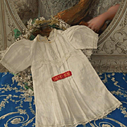 ~~~ Rare Factory Jumeau Louvre - Bebe Chemise ~~~