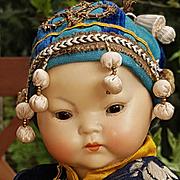 ~~~ Rare all Original Oriental Baby Doll by Kestner ~~~