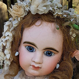 ~~~ Superb First Period French Bisque Bebe Girl by Denamur ~~~