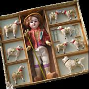 "~~~ Lovely "" Jolie Bergerie "" Presentation Box with Etrennes Catalog ~~~"
