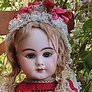 ~~~ Lovely Antique Bisque Bebe DEP for French Market ~~~