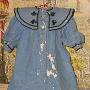 ~~~ Attic Found Factory Jumeau Bebe Coat as is.... circa 1880 ~~~