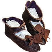 ~~~ Pretty Bebe Shoes of Maison Jumeau size 9 ~~~