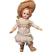 ~~~ Lovely French Bisque Bebe by Gaultier in Superb Antique Costume ~~~