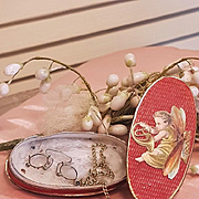 ~~~ Lovely French Fashion Lorgnette in original Box ~~~