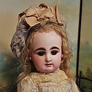 ~~~ Beautiful French Bisque Bebe by Rabery et Delphieu , Factory Original ~~~