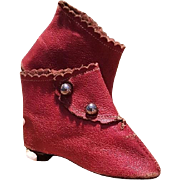 ~~~ Lovely Antique Fashion Doll Shoes ~~~
