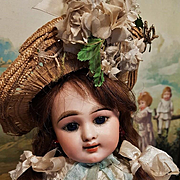 ~~~ Childlike Cabinet size French Eden Bebe with Shy Expression ~~~