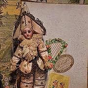 ~~~ Rare French Polichinelle in all Original Box Preserved Condition ~~~