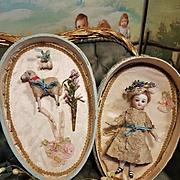 ~~~ Lovely French Mignonette in Sateen  Egg Presentation ~~~