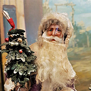 ~~~ Charming Winter Wonderland Santa Display ~~~