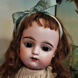 ~~~ Large French Bisque Bebe by Gaultier ~~~