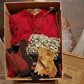 ~~~ Pretty Fashion Doll Winter Set in Original Box ~~~